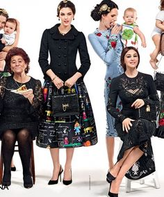 FAMILY BUSINESS ADVERTISING CAMPAIGN DOLCE & GABBANA Fall-Winter 2015