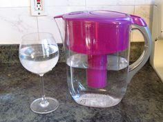 Violet Brita water jar