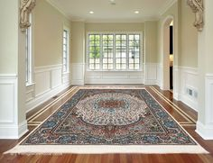 Classic Rugs, Modern Traditional, Border Design, Fringes, Persian Rug, Oriental Rug, Colorful Rugs, Iran, Tassels