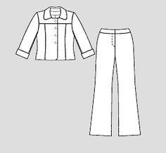 numer wzoru 117 Magazine 4/2009 Burda - - Kurtka wzory na kurtki Burdastyle.ru