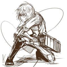 Shingeki no Kyojin - Armin <3----am I pinning too much Armin? I'm pinning too much Armin aren't i. Oh god