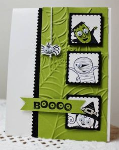 F4A135 Halloween eyes by Holstein - Cards and Paper Crafts at Splitcoaststampers