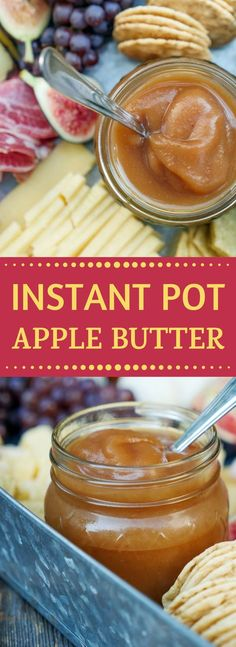 Apple Butter recipe for the Instant Pot. Tasty idea for Fall - Autumn season or any time