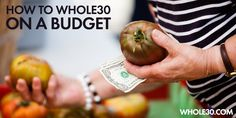Guide to the Grocery store - shopping on a budget for Whole30