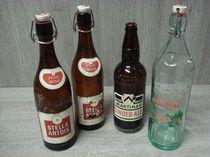 Oude drankflessen- jaren 1950
