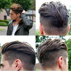 Fashion hair cut for summer Fashion hair cut for summer Mens Hairstyles With Beard, Cool Hairstyles For Men, Hair And Beard Styles, Hairstyles Haircuts, Ftm Haircuts, Haircuts For Men, Zec Efron, Disconnected Haircut, Medium Hair Styles