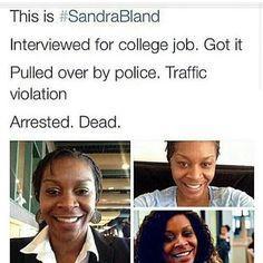 Sad Story #SandySpeaks #SandraBland #Whathappenedtosandy