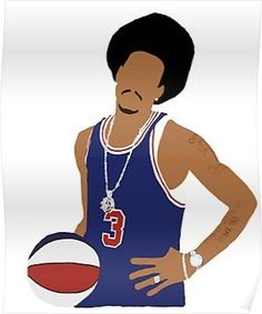 5a33c59191b  Allen Iverson Throwback Design   Poster by RatTrapTees