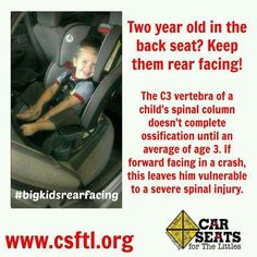 Big Kid Rear Facing Extended Car Seat Safety First