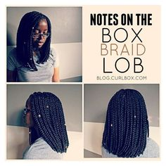 notes on the box braid lob ❤ liked on Polyvore featuring home and home decor