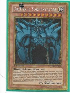 YU-GI-OH! OBELISK IL TORMENTATORE PGLD-IT030 GOLD THE REAL_DEAL SHOP