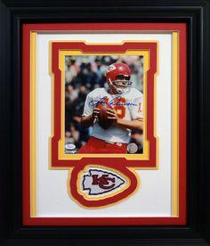 Len Dawson. Kansas City Chiefs. Autographed 8x10 photo.