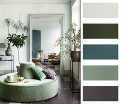 Colour palette interior design