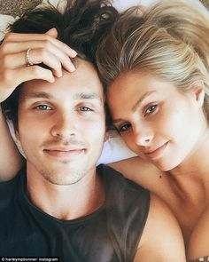Natalie Roser Harley Bonner celebrate one year anniversary  Theyre the smitten couple who want to shout their love from their social media platforms.  And this week model Natalie Roser 27 and her boyfriend Harley Bonner 26 took to Instagram to announce their one-year anniversary.  The Aussie actor kicked off the online love fest by posting a selfie to Instagram of himself and Natalie cuddling in bed.  Scroll down for video  One year with him. The first of forever. Australian fashion model…