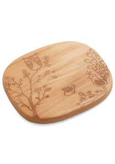 Creature Comfort Foods Cheese Board In Birds