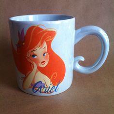 Disney Ariel Princess and Proud of It! 16 oz Mug Iridescent