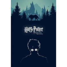 Alternative Movie Poster for Harry Potter and the Prisoner of Azkaban by Cameron K. Lewis