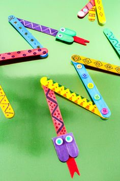 Mix-N-Match Popsicle Snake Craft: Fun For The Kids