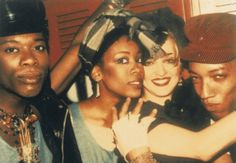 1977 - I 15 anni di Fiorucci festeggiati allo Studio 54 con Madonna
