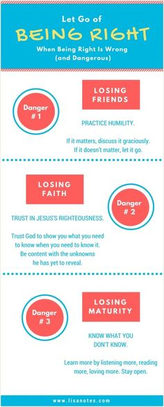 3 Dangers of Having to Always Be Right