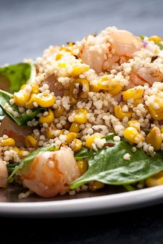 Millet With Corn, Mango and Shrimp Recipe - NYT Cooking Shrimp Recipes, Fried Rice, Summer Recipes, Seafood, Fries, Mango, Mark Bittman, Dinner, Cooking
