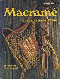 Macrame Creative Knot-Tying Vintage Craft Book by CraftLifeBooks