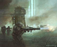 Line infantry by ProxyGreen on DeviantArt