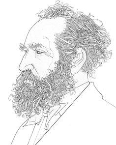 Portraits B/W - David Johnson Illustration