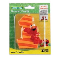 Sesame Street Elmo First Birthday Candle Oasis Supply http://www.amazon.com/dp/B003X8G08W/ref=cm_sw_r_pi_dp_YA7Mtb14VHTW97BN