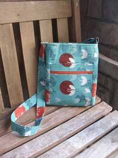 Hipster...another great bag... would be great with a cross body strap. s