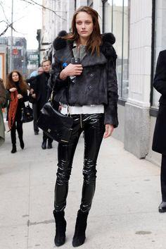 8f9e2f4b387 Karmen Pedaru Leather Fashion