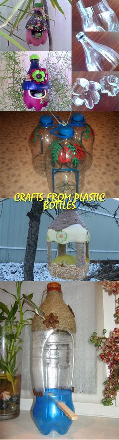 Crafts from plastic bottles | GOOD HOUSE WIFE