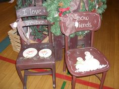 Snowmen school type chairs     http://media-cache-ec0.pinimg.com/originals/47/1d/3a/471d3af0e8e5d1931b5be6aacf80fd29.jpg