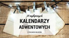 10 najlepszych kalendarzy adwentowych 2016 z polskich blogów