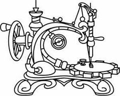 steampunk and victorian | Urban Threads: Unique and Awesome Embroidery Designs