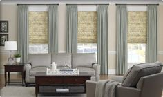 Superbe Roman Shades  3 Day Blinds  Living Room   Roman Shades   Other Metro   3  Day Blinds