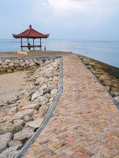 On the shores of Sanur. Click to see more photos of the beaches in Bali.