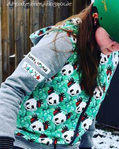 """...I love that ""funky"" girl with her ""funky panda"" jacket...more on the blog... #linkinbio #linkimprofil #neuesebook #kapuzenjacke #lillesolwomen…"""