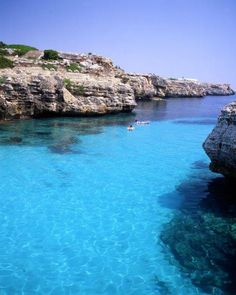 Menorca - hopefully our holiday destination this year!