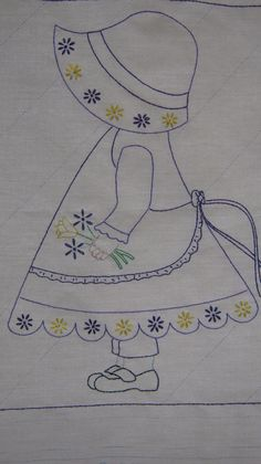 Hand Embroidered Quilt Blocks