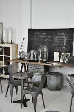 muebles vintage de diseño industrial