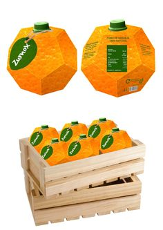 Zumox Orange Juice (Student Project) on Packaging of the World - Creative Package Design Gallery