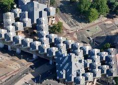 Piet Blom, Cube Houses, 1984, Rotterdam, The Netherlands