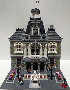 Hi guys,  This the new town hall of my city, inspired from a town hall of Paris (19 eme arrondissement)  Enjoy  Vive la France!...