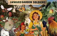 A great old victory garden picture!