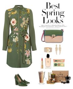 """Untitled #217"" by ycsandjaja on Polyvore featuring Oasis, H&M, Tory Burch, Valentino, Balenciaga, Stephen Webster, Giorgio Armani, TheBalm, Dolce&Gabbana and women's clothing"