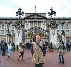 여기가 바로 버킹엄궁전 #유럽여행 #여행스타그램 #유럽 #영국 #런던 #UK #LONDON #buckinghampalace #버킹엄궁전 #유니언잭 #유니언기 by shshlsh0924