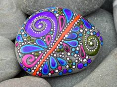 Live Your JOY / Painted Rock / Sandi Pike door LoveFromCapeCod