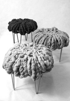 Wool Stool * Deco Findings * The Inner Interiorista