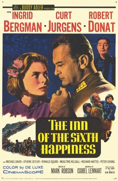 Watching old films ....The Inn of the Sixth Happiness (1958). One of my favorite movies!!